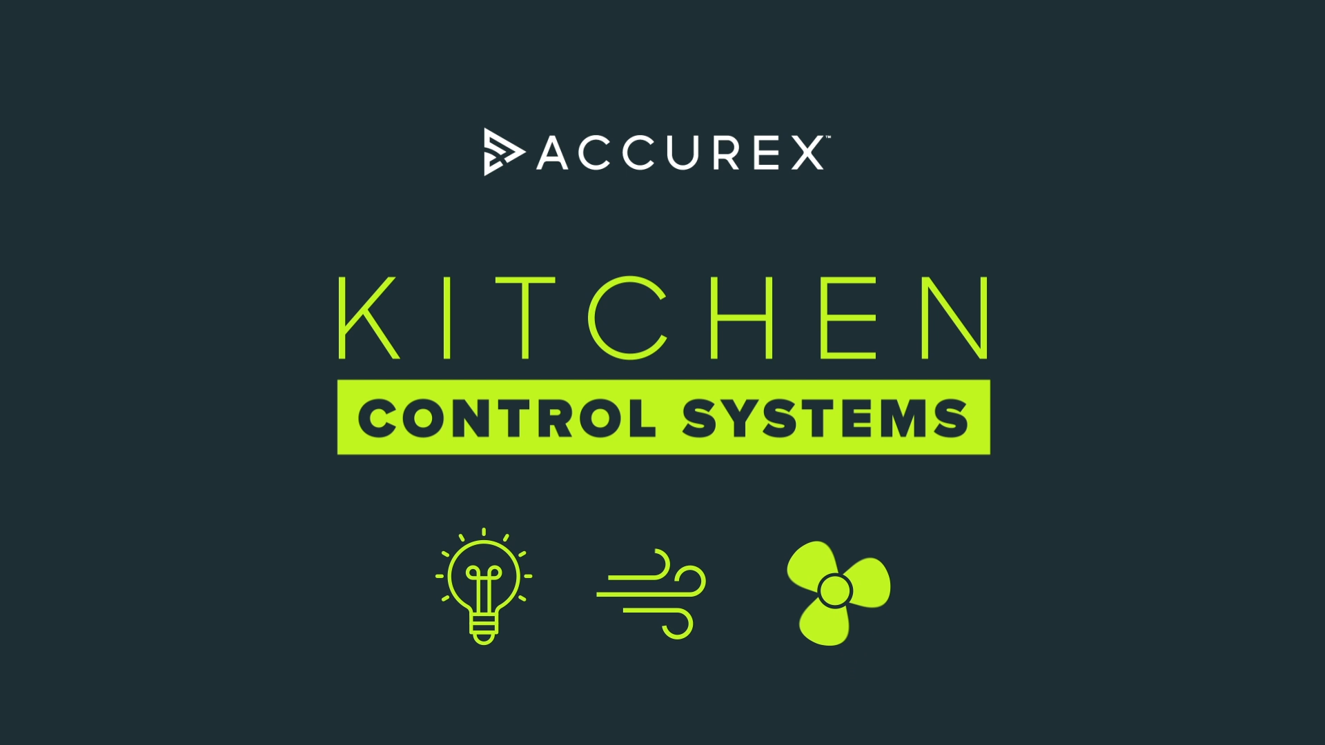 Kitchen Control Systems