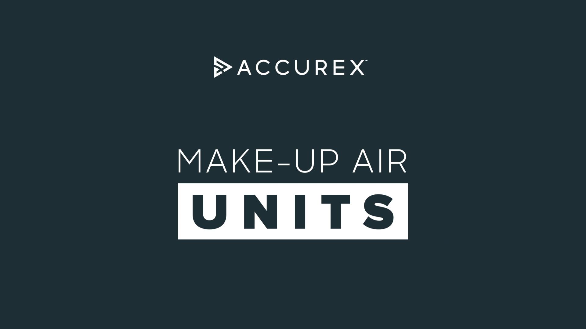 Make-up Air Unit Video Screenshot