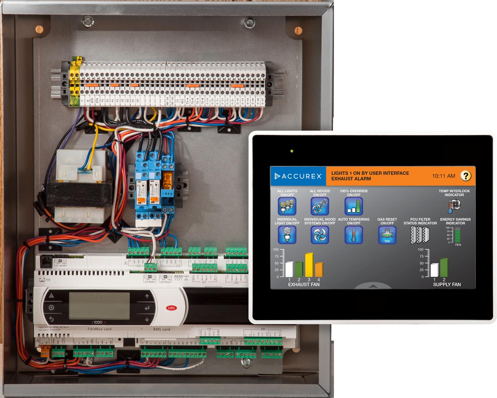 Variflow Control Box Touchscreen