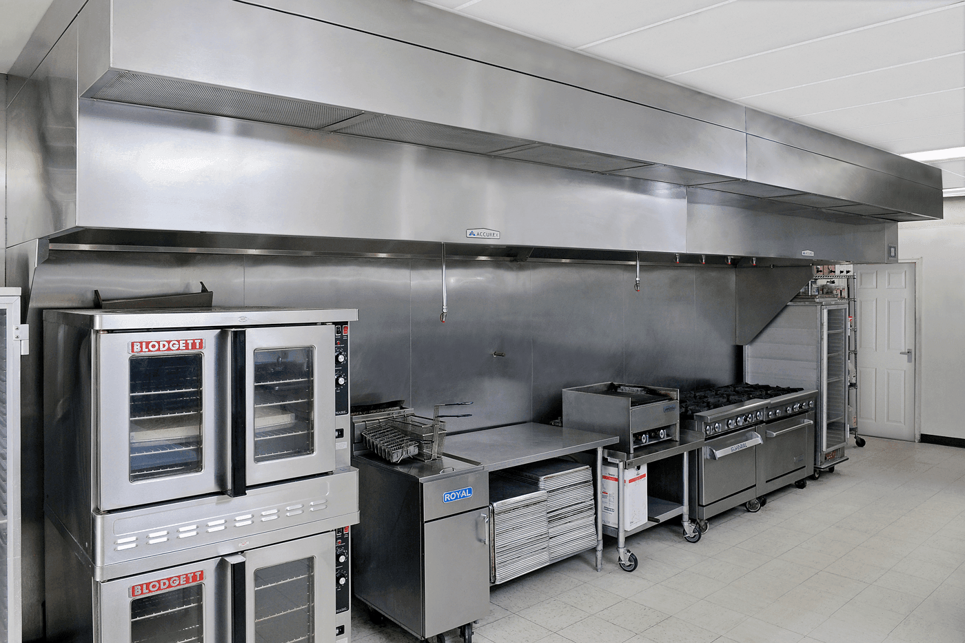 Accurex Kitchen Ventilation System at Bistro Boys Catering