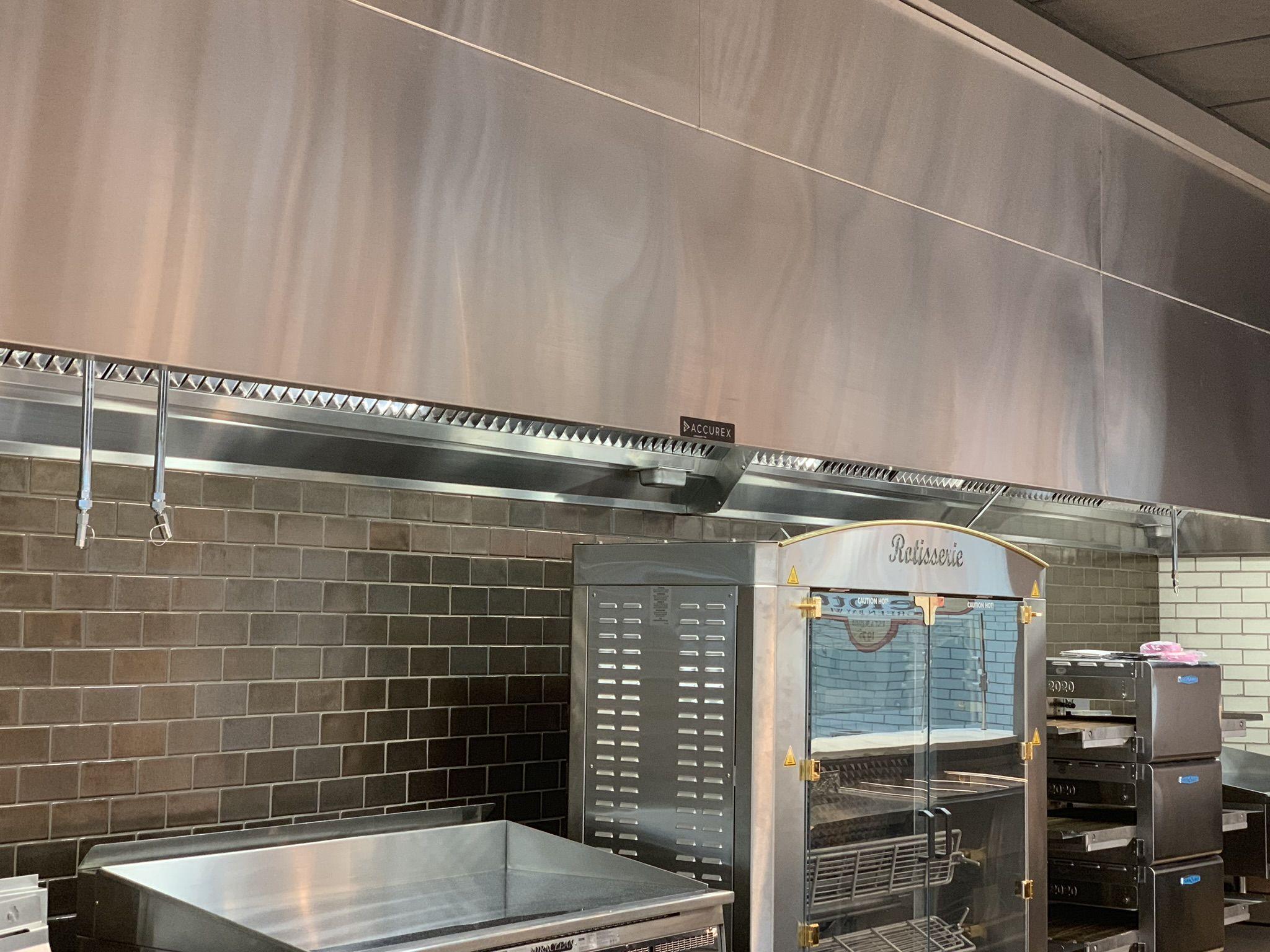 Lambeau Field Marketplace Kitchen Exhaust Hood