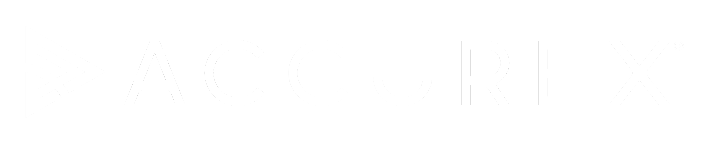 Accurex Footer Logo White
