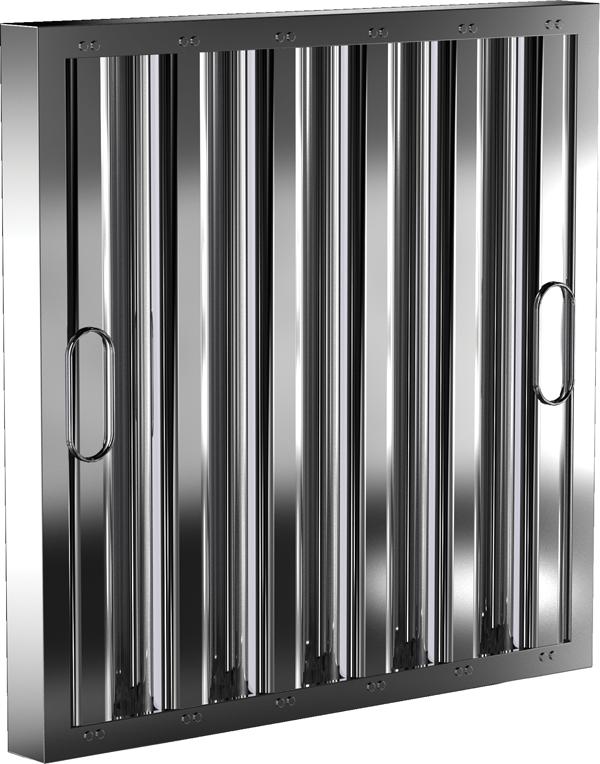 Standard Baffle Filter Product Rendering