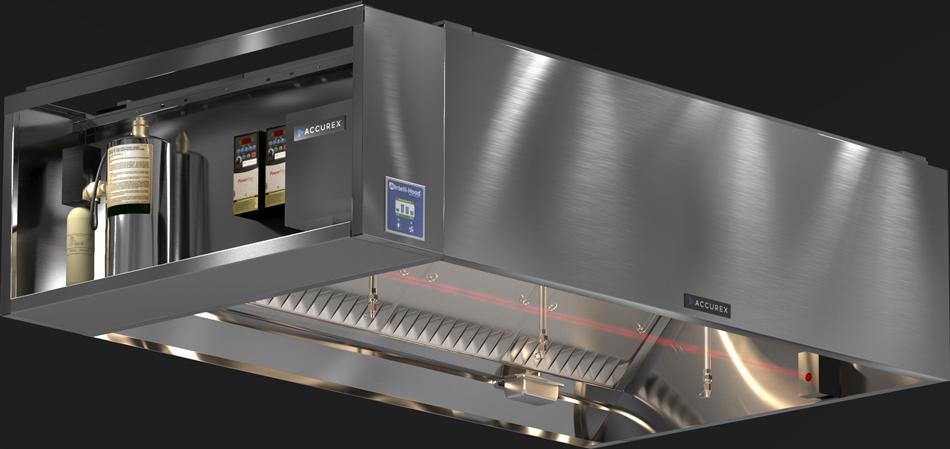 Melink Intelli-Hood System Demand Control Kitchen Ventilation Product Rendering