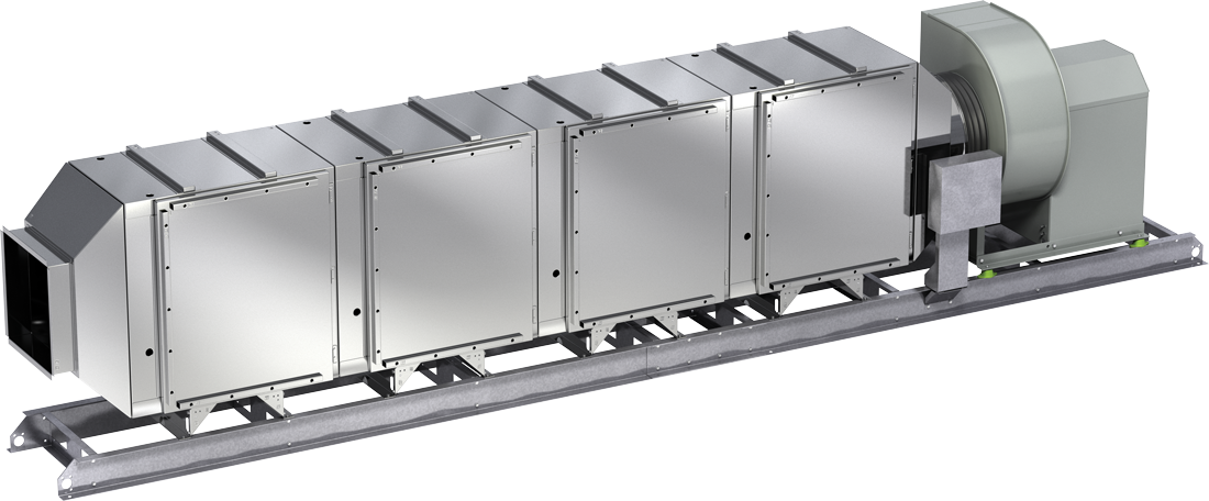 Grease Trapper Pollution Control Unit Product Rendering