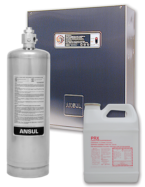 Ansul® Piranha fire suppressant