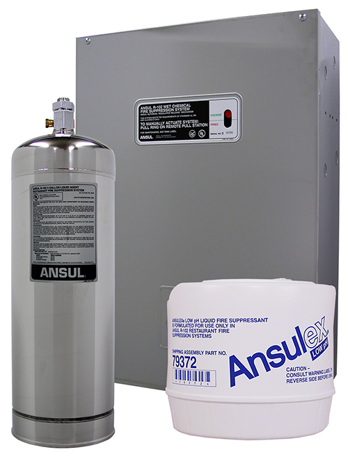 Ansul R-102 Overlapping, Fire Suppresion Systems