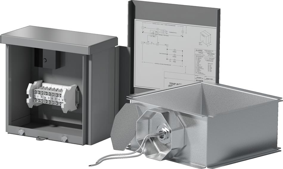 Temperature Interlock | Automatic Fan Activation
