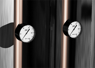 Utility Distribution System Gauges Product Rendering
