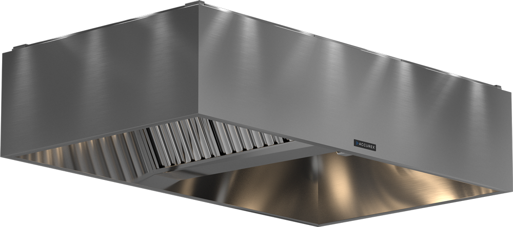 Models XBER and GBER Pizza Hood Product Rendering