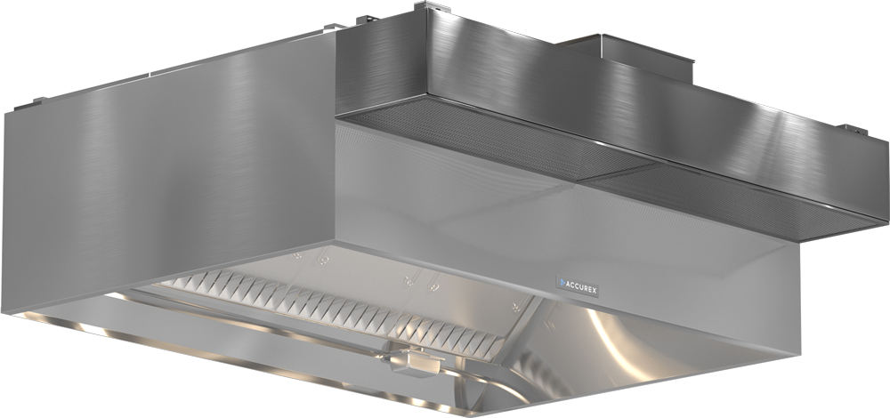 Models XGEW GGEW Exhaust Only Wall Canopy Hood ASP Product Rendering