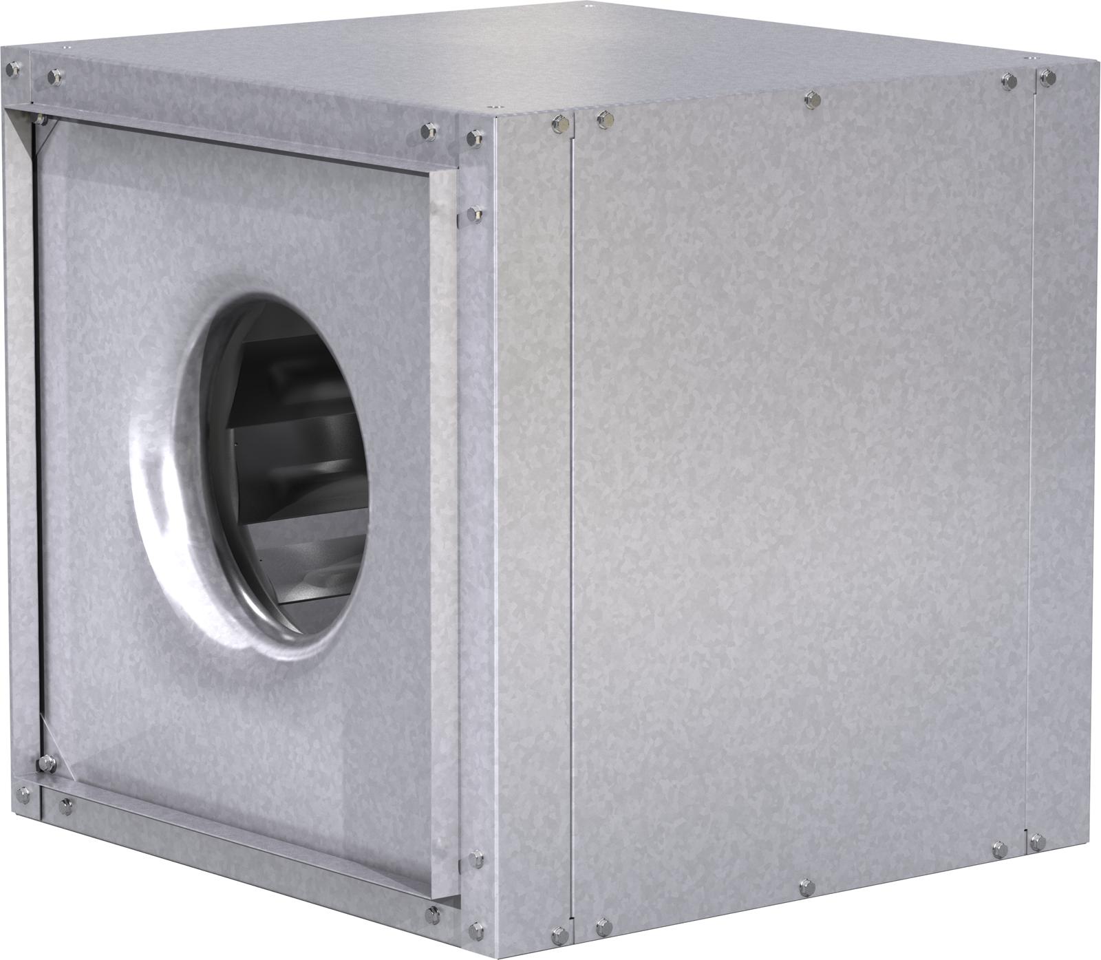 Model XID Direct Drive Inline Exhaust Fan Rendering