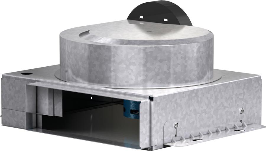 Model XIR-B Direct Drive Inline Exhaust Fan Product Rendering