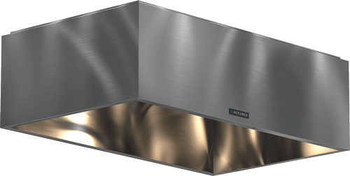 Model XO Heat and Condensate Hood Product Rendering