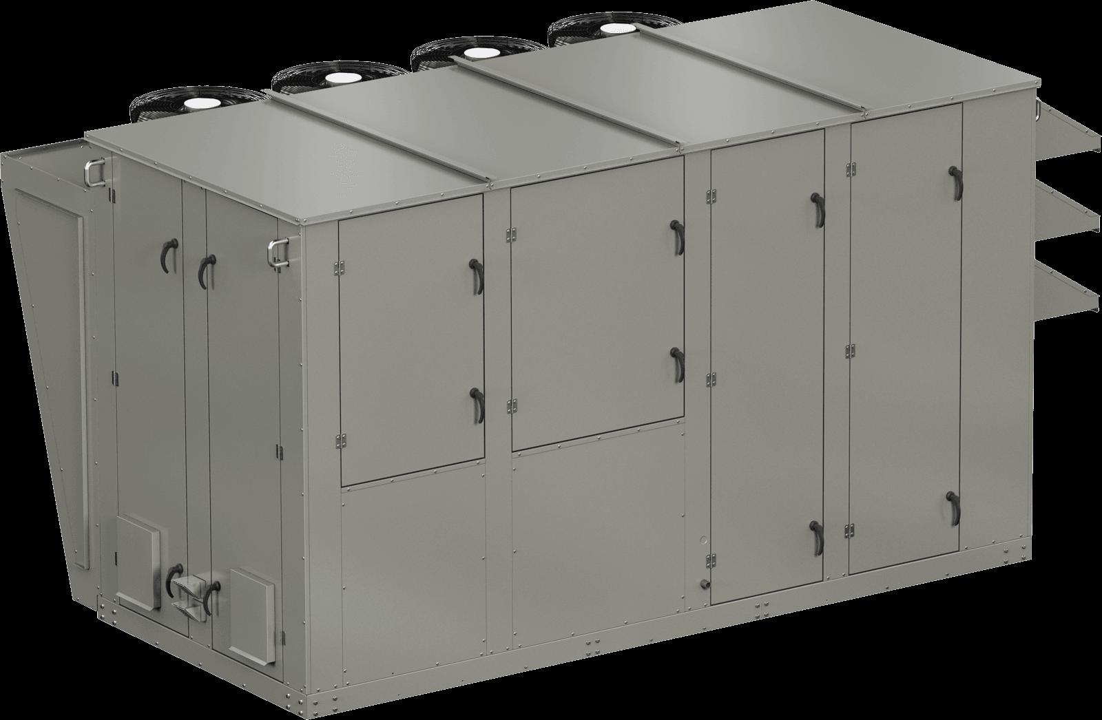 Model XRV 120 Condenser Alternative Dedicated Outdoor Air System Rendering