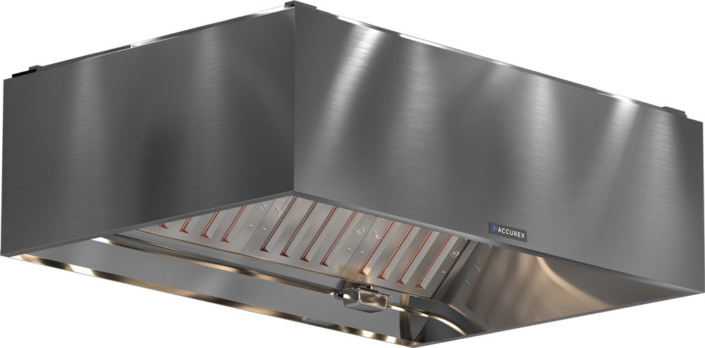Models XTEW and GTEW Exhaust Hood Product Rendering