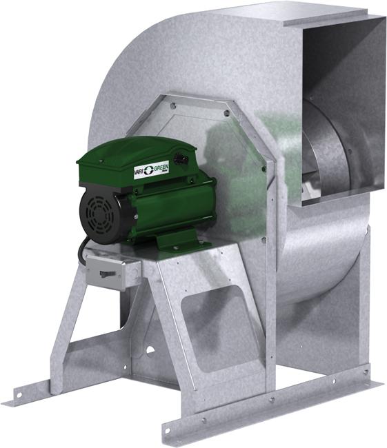 XUEFD Open Exhaust Fan Product Rendering