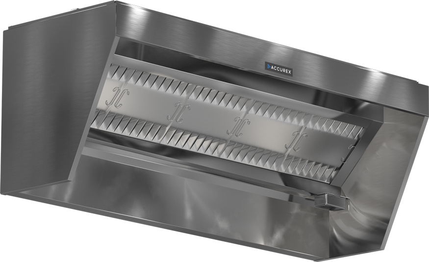 Models XXEP and XGEP Exhaust Hood Product Rendering