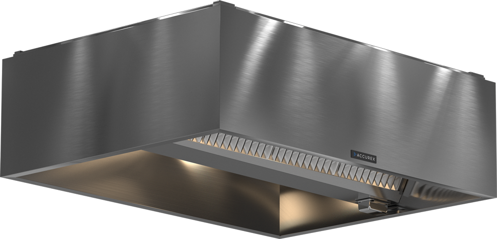 Models XXEV and GXEV Exhaust Hood Product Rendering