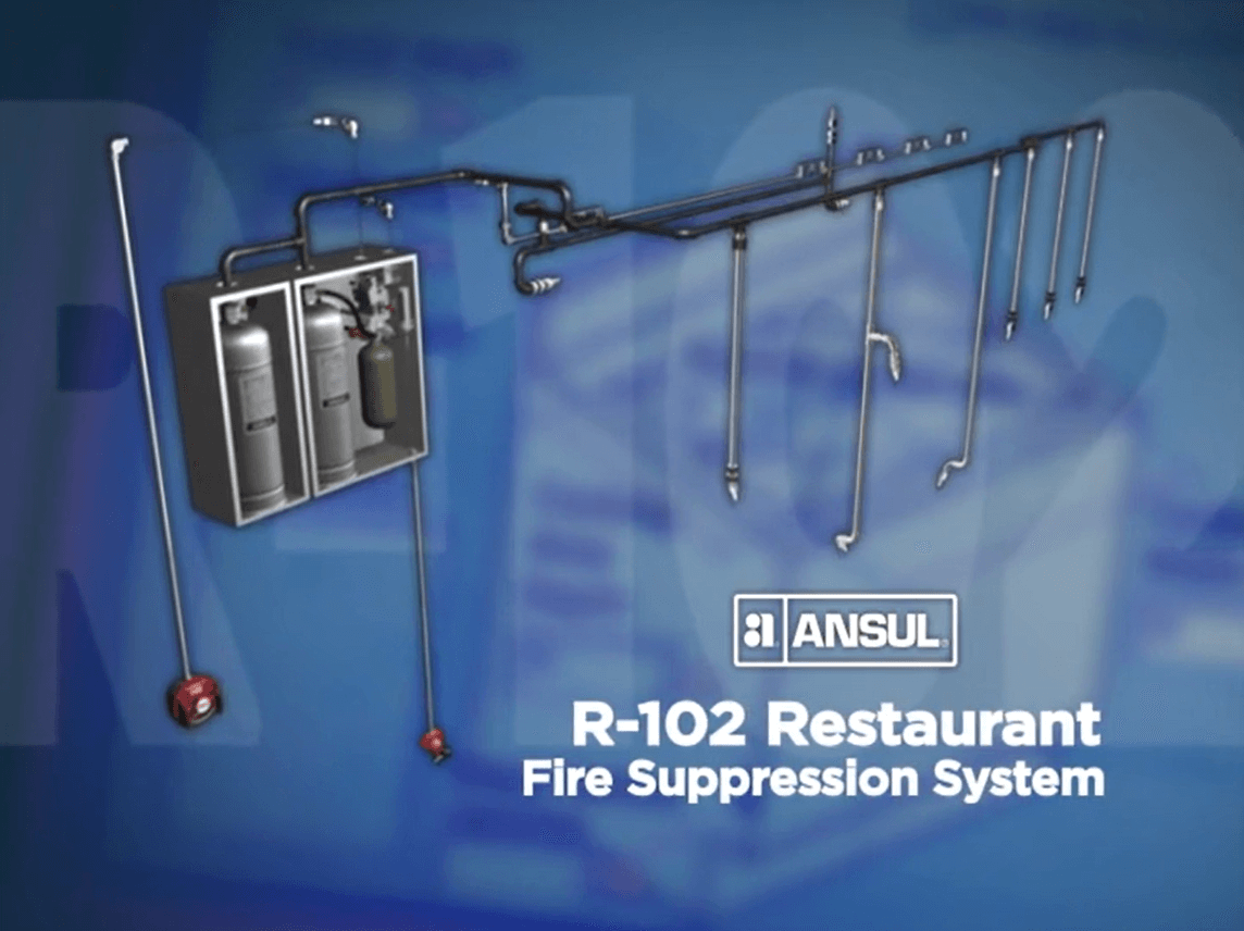 Ansul R102 Restaurant Fire Supression System